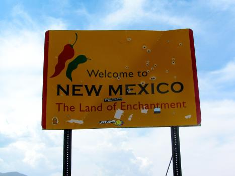 New Mexico Sign 003